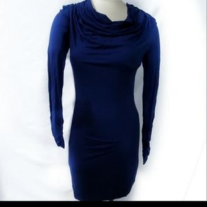 Max Studio Blue Bodycon Dress Size Small